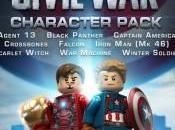 LEGO Marvel Vengadores recibe pack Capitán América: Civil