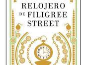 relojero Filigree Street, Natasha Pulley