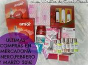 Últimas compras Mercadona (Enero, Febrero Marzo 2016)