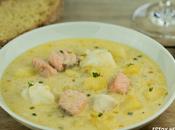Receta sopa pescado irlandesa (fish chowder)