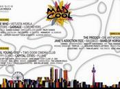Distribución días Cool Festival 2016