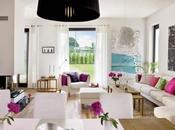Estilo moderno para vivienda llena color