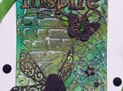 """Mixed Media Tag: """"Inspire"""""""