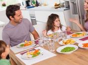 Beneficios comer cenar familia