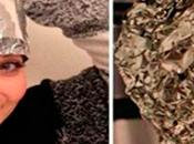 Esta Chica Coloco Papel Aluminio Junto Mezcla Obteniendo Resultados Increíbles. Conócelos