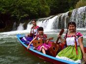 Visitantes disfrutan Cultura Luis Potosí