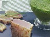 Tataki bonito salsa perejil