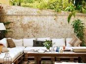 Decorar terraza, patio jardín soluciones #lowcost