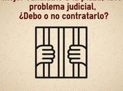 mejor candidato tuvo problema judicial, contrato contrato?