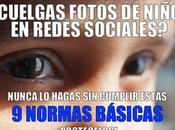Publicar fotos niños redes sociales