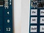 Piano teclado capacitivo TTP229 canales zumbador
