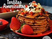Tortitas americanas chips chocolate pancakes with