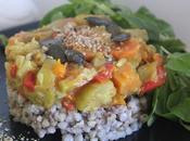 Timbal trigo sarraceno verduritas aroma coco curry
