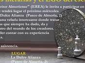 Café literario EREA, reseñas literarias escritor. 16/03/16