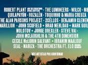 Noches Botánico Madrid Robert Plant, Lumineers, Wilco, M83, Molotov, Seal, Steve Vai...