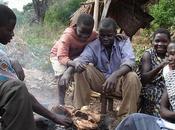 África. Navidad luces consumismo, pero feliz