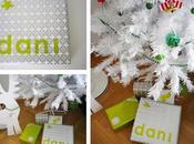 Nuestros Regalos Navidad: Nombres letras recortadas