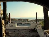 Camping playa abandonado