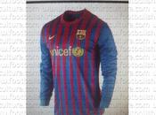 Camiseta local Barcelona; temporada 2011-2012