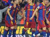 Messi platea, Barça venció Levante