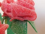 Dulce ramo rosas para candy