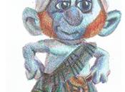 Versión personajes años llamados pitufos...
