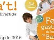 Actividades para niños Alícia't, Fiesta cocina fácil, sana divertida
