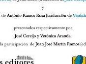 Presentación Ramos Rosa Keats Madrid, abril