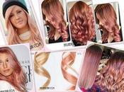 Rosado cabello, Fórmulas color para lograrlo.