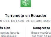 Facebook activó sistema alerta después sismo Ecuador