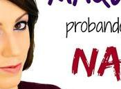 Maquillaje Probando sombras NABLA