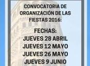 Convocatoria para organizar Fiestas Populares Gancho 2016