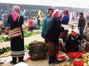 Muang Sing mercado étnico