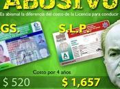 Licencia para conducir Luis Potosí: cara país