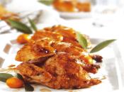 Gallinitas glaseadas receta pollo
