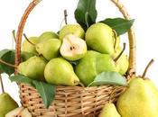 Pera, rica fibra, vitaminas minerales