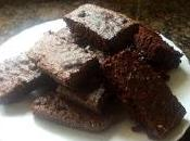 Brownies sanos harina integral toque almendras banana