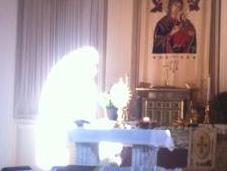 Imágenes milagrosas iglesia Monterrey parte)