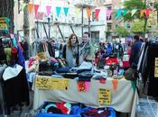 Vendiendo ropa Flea Market