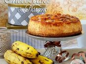 Tarta queso plátano banana cheesecake