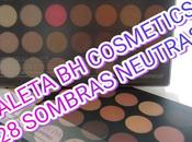 Review paleta neutros cosmetics