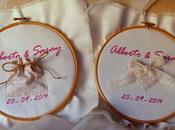 Bastidores para boda Saray.