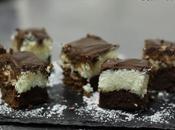 Brownie chocolate coco