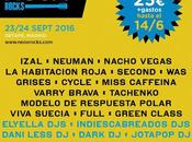 Neox Rocks 2016: Izal, Viva Suecia, Tachenko, Habitación Roja, WAS...