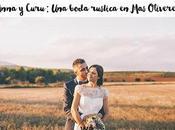 Anna curu: boda rústica oliveres