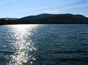 León. Ponferrada. Lago Carucedo creado artificialmente romanos