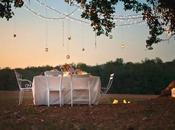 Mesa sencilla campo: huele verano