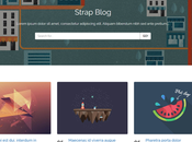 Strap Blog Blogger Template