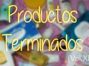 Productos Terminados (Vol.XIX)