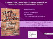 Presentación Ágora Móstoles libro 'Renta Básica Universal. peor soluciones excepción todas demás)'